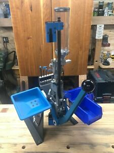 Dillon Square Deal 'B' reloading press 38 special MANY accessories