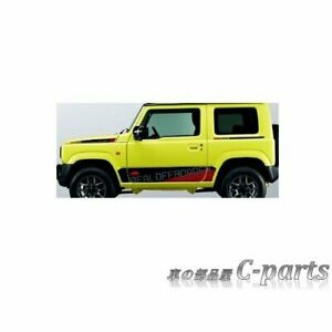 New Jdm Suzuki Jimny Samurai Jb64 Oem Genuine Side Decal Car Parts From Japan