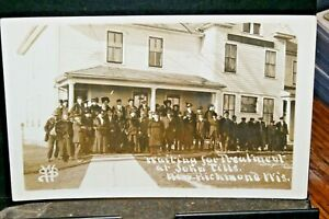 d333 real Photo Pts Of John Till Famous Healer Wisc Quack Doctor 1910