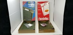 Hanging File Folders 5 Tab Legal Size Standard Green Lot Of 49