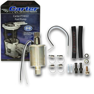 Carter P74022 Fuel Pump Electric Inline Pressure Transfer Gas Diesel Ko