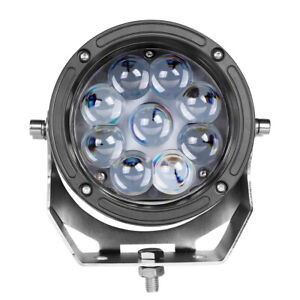 5 5 Cree Led Round Driving Spot Lights Work Light Pods Lamp Off Road 4wd 12v 6