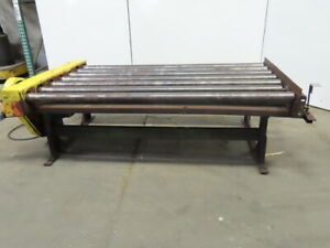 Roach Power Roller Case Conveyor 81 w X 53 l X 26 1 2 h 208 230 460v 3ph 20fpm