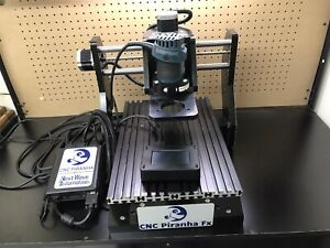 Next Wave Cnc Piranha Fx With Bosch Router And Other Tools