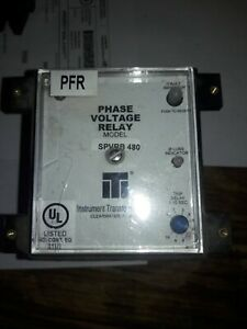 Instrument Transformers Phase Voltage Relay Model Spvrb 480
