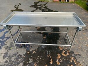 Advance Tabco Sr 72 Stainless Steel Sorting Table 30 X 72 Used