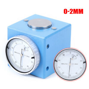 Magnetic Z Axis Dial Zero Pre Setter Tool 2mm Height 0 01mm Gage Offset F Cnc