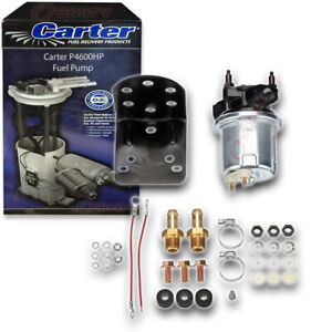 Carter P4600hp Fuel Pump Electric Inline Pressure Transfer Gas Diesel Ai