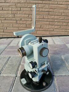 Theodolite Optical 2t30 1983 Ussr Legendary Vintage Geodesic Tool