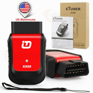 Bluetooth Code Reader Full System Car Diagnostic Tool Xtuner X500 For Android Sc