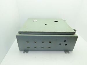 Hoffman A202408lp Steel Electrical Enclosure Jic Box Backplate 20x24x8 Type 12