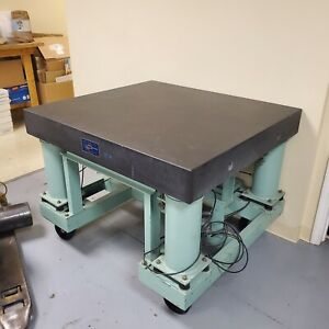 Granite Surface Table Hydraulic Lift Used Hydraulic Table