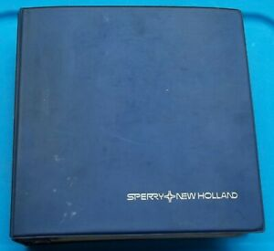 Vintage Sperry New Holland Tractor Balers Hay Tools Bale Wagons Dealer Sales Bk