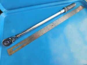 Used Matco Tools 1 2 In Dr Torque Wrench 25 To 250 Ft Pds Trc250