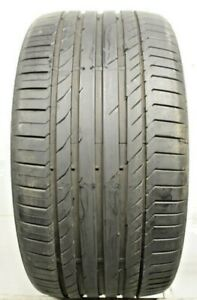 Used 315 35r20 3153520 Continental Conti Sport Contact 5 Ssr Bmw 7 5 8 32 A137