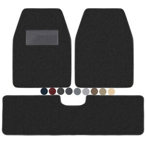 Carxs Car Floor Mats For Car Suv Van Heavy Duty Extra Thick Carpet Mat 3 Piece
