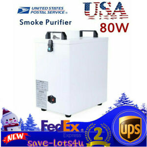 Pure Air Fume Extractor Smoke Purifier For Cnc Laser Engraving Cutting Machine