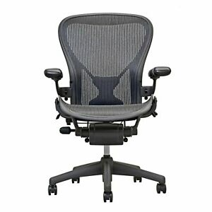 Herman Miller Fully Loaded Posture Fit Size B Aeron Chairs Open Box