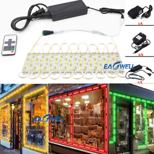 Smd 5050 6 Leds Led Module Light Waterproof Ip65 Dc12v For Sign Advertising Lamp