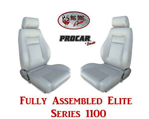 Procar Full Bucket Seats 80 1100 52 Elite 1100 Series For 1989 95 Ford Bronco