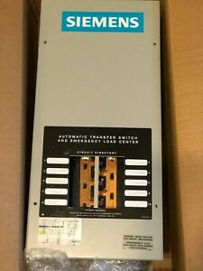 Siemens Generac Ats Automatic Transfer Switch Panel 100a 100 Amp St100r10c