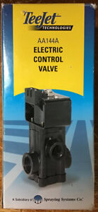 Spraying Systems Teejet 12 Volt Electric Control Valve Aa144a Epdm 10 Gpm New