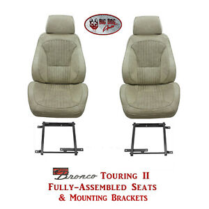 Standard Touring Ii Seats Brackets For 1968 74 Ford Bronco S Any Color