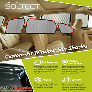 3d Maxpider S1mz0571 For Mazda Cx 9 2016 2020 Soltect Sunshade Side Windows