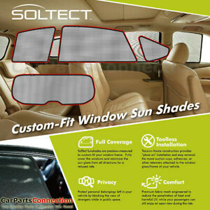 3d S1ty1620 For Toyota Prius V 12 17 Soltect Sunshade Side And Rear Windows