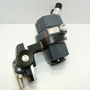 American Optical 569 Stereo Zoom Microscope Focus Holder 10xwf Eyes 30x Mag 192