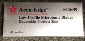 Accu Edge Cryostat Microtome Disposable Blades 4689 50 Blades