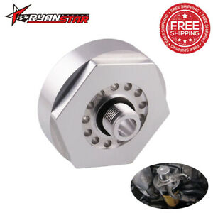 Aluminum Alloy Fuel Filter Adapter For Duramax 2001 2016 Lb7 Chevy Gmc 6 6llly