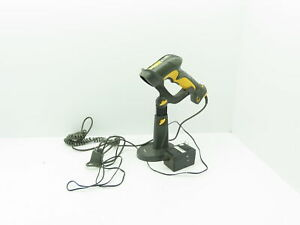 Symbol Ls3408 fz20005 Handheld Barcode Scanner With Cable And Stand