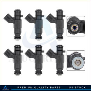 6 Fuel Injectors For Buick Rendezvous Cadillac Cts 3 6l 2004 2005 2006