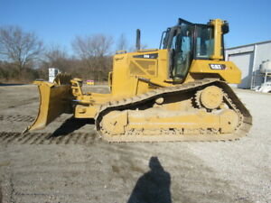 Cat Caterpillar D6n Lgp Bulldozer Crawler Ac heat Cab 6 Way Blade 10 928 Hrs