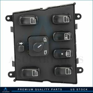 Universal Power Window Switch Front Left For 98 03 Mercedes Benz Ml320