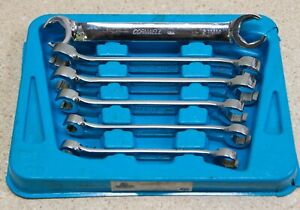 Cornwell Bwfmp6st 6 Piece Metric Double Flare Nut Wrench Set