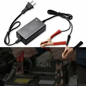 Automatic 12v Battery Charger Maintainer Motorcycle Atv Car Float Trickle