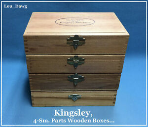 Kingsley Machine 4 sm Parts Wooden Boxes Hot Foil Stamping Machine