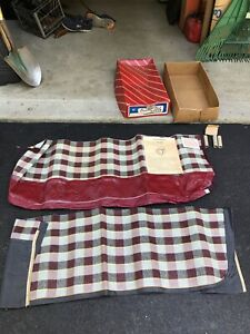 Vintage Wizard Country Club Fiber Seat Covers In Original Box Front Seats Only