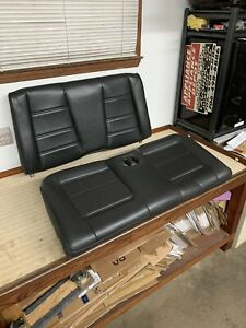 Ford Mustang Convertible Gt Black Leather Rear Seat 99 2000 2001 2002 2003 2004