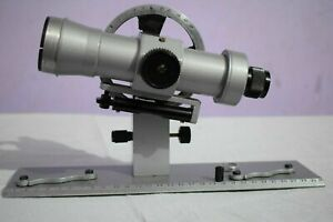 Aluminium Telescopic Alidade Surveying Equipment Theodolite Transit Alidade