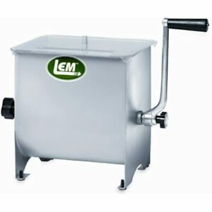 Lem Product 654 Stainless Steel Manual Meat Mixer Sports amp Outdoors Free