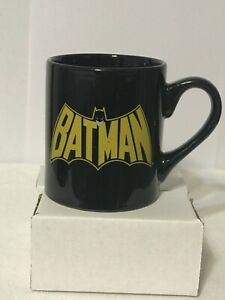 Batman Coffee Mug 2011 Black by Silver Buffalo - DC Comics