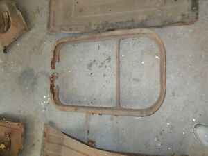 1946 1947 1948 Chevy Radiator Core Support Original Gm Fleetline 42 Bomb Sled