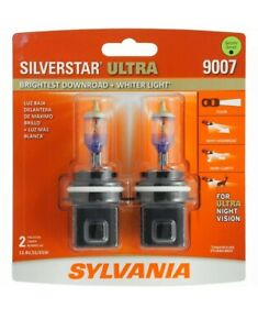 Sylvania Silverstar Ultra 9007 Pair High Performance Headlight 2 Bulbs Brand New