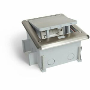 Outdoor Ground Waterproof Pop Up Stainless Steel Power Box Push Button
