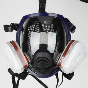 Full Face Gas Mask Facepiece Respirator