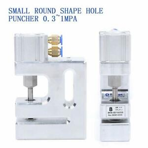 Small Round Shape Hole Puncher Punching Machine For Blister Card 8mm 0 3 1 0 Mpa