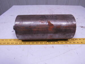 6 Od X 12 1 4 Weighted Steel Conveyor Roller 1 1 8 Dia Shaft 15 Oal